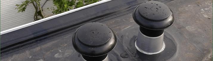 Ontluchting - dakdoorvoer plat dak