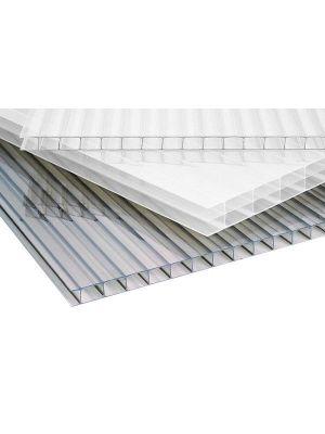 Polycarbonaat kanaalplaat 16mm dik 98cm breed